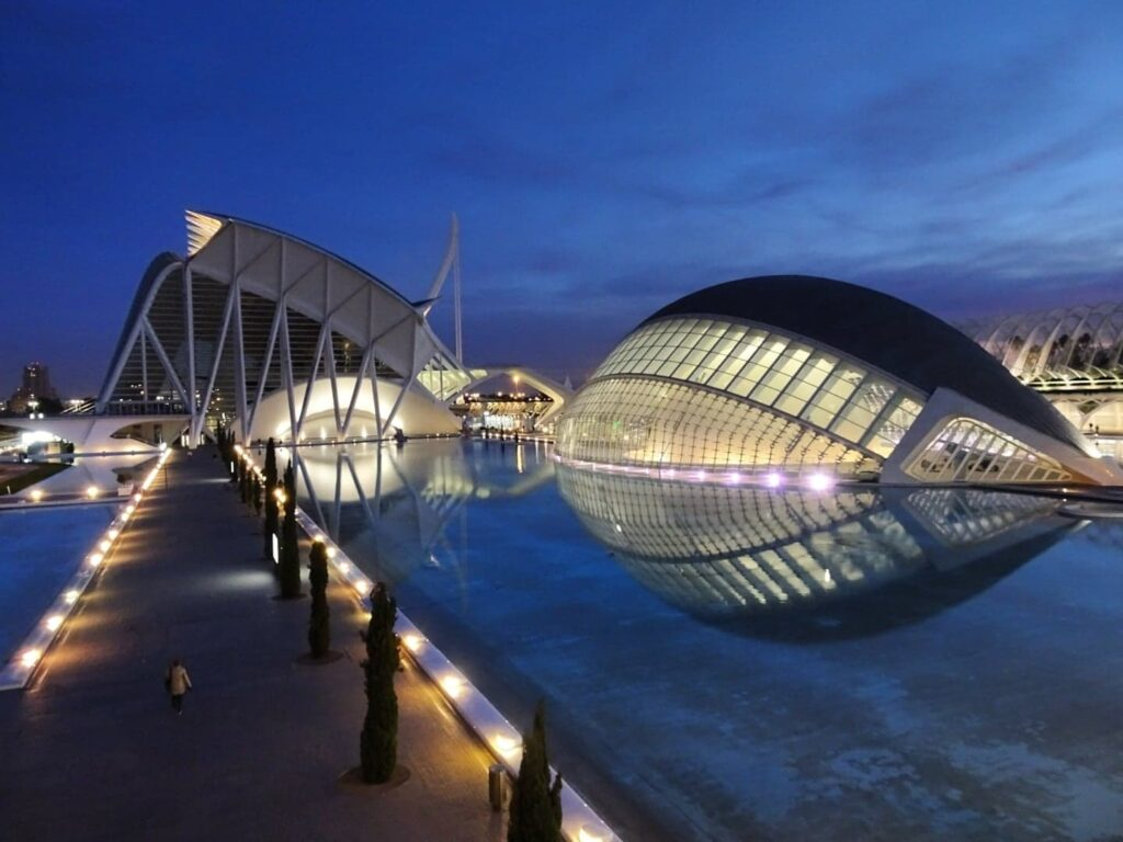 Science city of Valencia