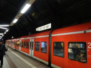 FROM KOLDING TO CÁDIZ – DENMARK TO SOUTH OF SPAIN – TRAIN VERSUS PLANE